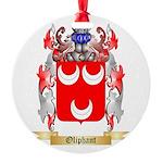 Oliphant Round Ornament