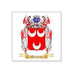 Oliphant Square Sticker 3