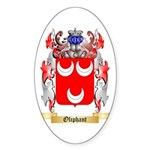 Oliphant Sticker (Oval 10 pk)