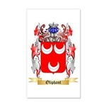 Oliphant 35x21 Wall Decal
