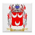 Oliphant Tile Coaster