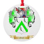 Oliff Round Ornament
