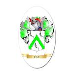 Oliff 35x21 Oval Wall Decal