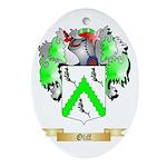 Oliff Oval Ornament
