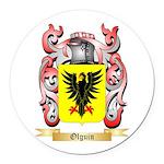 Olguin Round Car Magnet
