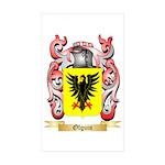Olguin Sticker (Rectangle 50 pk)