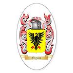 Olguin Sticker (Oval)