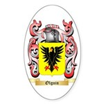 Olguin Sticker (Oval 10 pk)