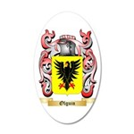 Olguin 35x21 Oval Wall Decal