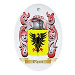 Olguin Oval Ornament
