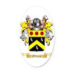 Oldham Oval Car Magnet