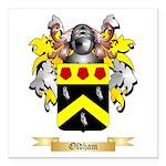 Oldham Square Car Magnet 3