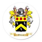 Oldham Round Car Magnet