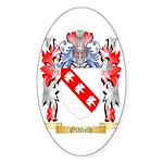 Oldfield Sticker (Oval 50 pk)