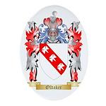 Oldaker Oval Ornament