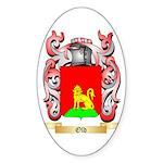 Old Sticker (Oval 50 pk)