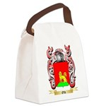 Old Canvas Lunch Bag