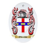 Olbrechts Oval Ornament