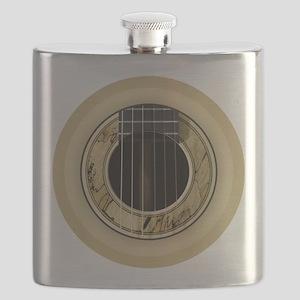 Guitar Round Flask