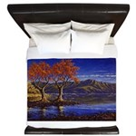 Lake morning King Duvet