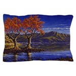 Lake morning Pillow Case