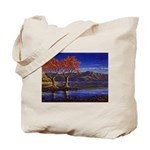 Lake morning Tote Bag