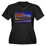 Lake morning Plus Size T-Shirt
