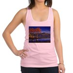 Lake morning Racerback Tank Top