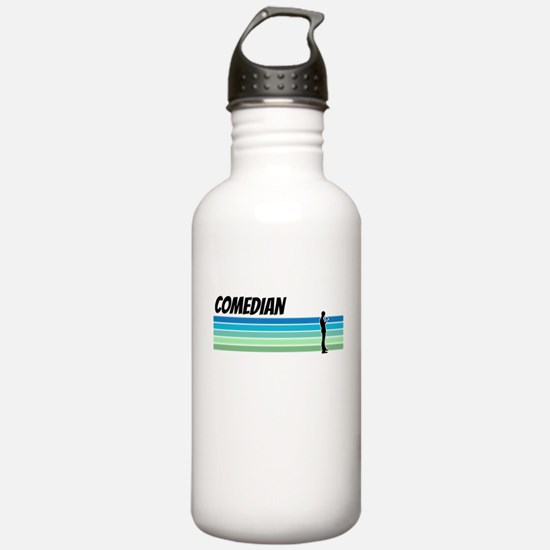 Retro 1970s Comedian Water Bottle