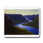 River canyon Mousepad