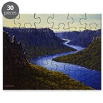 River canyon Puzzle