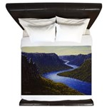 River canyon King Duvet
