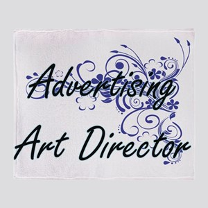 Advertising Art Director Artistic Jo Throw Blanket