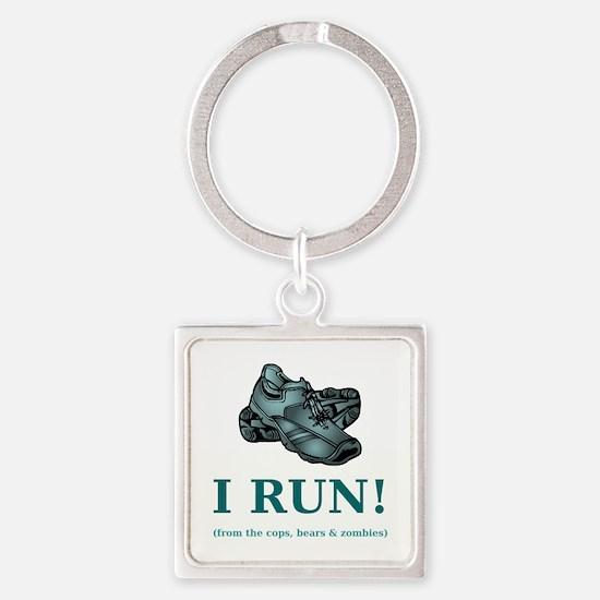 I RUN! Keychains
