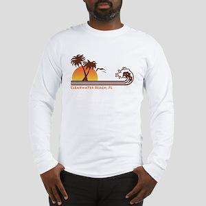 Clearwater Beach FL Long Sleeve T-Shirt