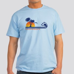 Clearwater Beach FL Light T-Shirt