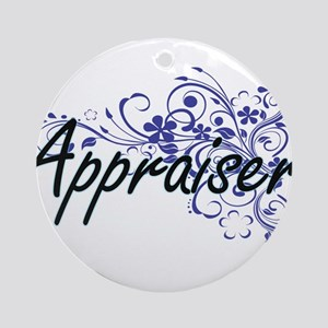 Appraiser Artistic Job Design with Round Ornament
