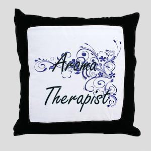 Aroma Therapist Artistic Job Design w Throw Pillow