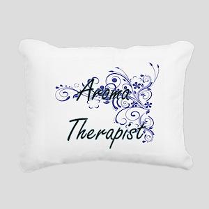 Aroma Therapist Artistic Rectangular Canvas Pillow