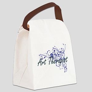 Art Therapist Artistic Job Design Canvas Lunch Bag