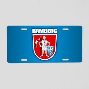 Bamberg Aluminum License Plate