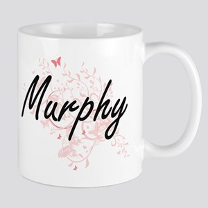 Murphy surname artistic design with Butterfli Mugs