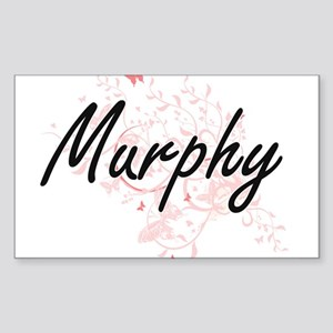 Murphy surname artistic design with Butter Sticker