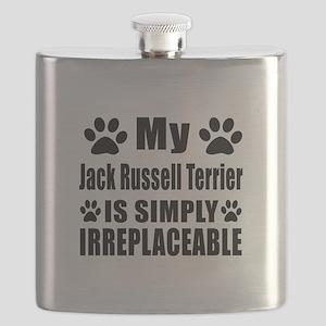 Jack Russell Terrier is simply irreplaceable Flask