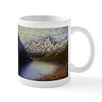 Mountain lake winter Mugs