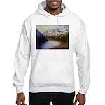 Mountain lake winter Jumper Hoodie