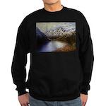 Mountain lake winter Sweater