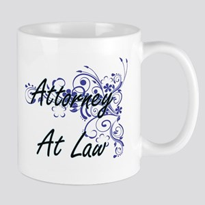 Attorney At Law Artistic Job Design with Flow Mugs