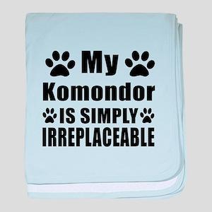 Komondor is simply irreplaceable baby blanket
