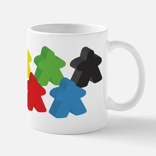 set of five meeples Mugs